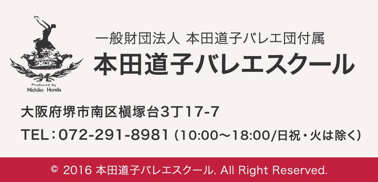 本田道子バレエスクール 大阪府堺市南区槇塚台3丁17−7